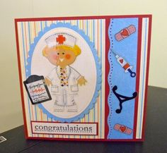 Nurse Retirement by mum2twinboys13 - Cards and Paper Crafts at Splitcoaststampers
