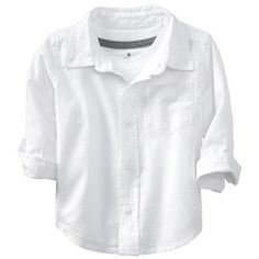 a1e6105db Old Navy Oxford Uniform Shirts For Baby Size 12-18 M - Bright white (