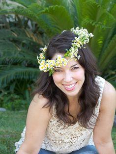 DIY Flower Crown @LovelyIndeed
