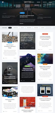 Blog Website Templates Blog Mobile Website Templates  Ideas For The House  Pinterest