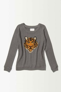Jersey de algodón gris de Anthropologie (149 €).