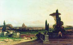 Рим. 1857 - Боголюбов Алексей Петрович
