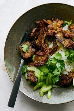 Lemony Whipped Feta With Charred Scallions Recipe - NYT Cooking Curry Recipes, Asian Recipes, Beef Recipes, Cooking Recipes, Asian Desserts, Braised Short Ribs, Beef Short Ribs, Stewed Potatoes, Skirt Steak