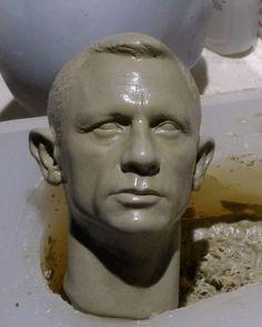 1/6 Daniel Craig, wax, work in progress by Imaresqd1 on DeviantArt