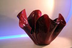 Vaso in ceramica smaltato