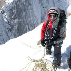 "Denis Burdet: ""I was born on skis in Château-d'Oex."" ( Mammut pro team)"