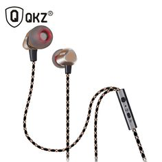 QKZ X36M Enthusiast Bass Ear Earphones Copper Forging 7MM Shocking Antinoise Earphone With Microphone Sound Quality Gold plated   Price: US $6.45   http://www.bestali.com/goto/32255946010/10