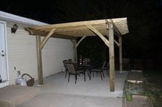 How to Build a Pergola in Two Days on a Budget - Detailed How-To ~$500 for a 12'x16' in pt pine