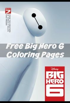 Big Hero 6 Coloring