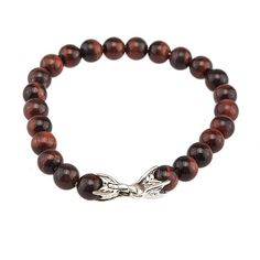 Pre-owned David Yurman Spiritual Beads 925 Tiger's Eye 5mm Bracelet (2.245 ARS) ❤ liked on Polyvore featuring jewelry, bracelets, pre owned jewelry, beading jewelry, preowned jewelry, bracelet jewelry and bracelet bangle