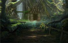 Unfinished Jungle Cave by ~samm1551995 on deviantART