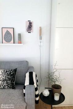 Via that nordic feeling - DIY Muuto wall lamp