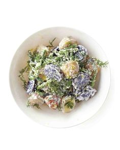 Potato Salad with Green Beans and Ricotta Recipe