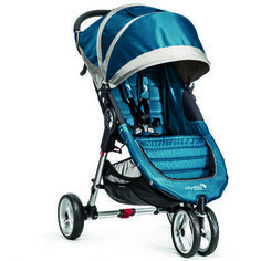 """The Baby Jogger City Mini keeps you and your jock-in-training on the move. The wheels lock in place for a smooth long-distance stroll or swivel to maneuver around tough terrain. The seat fully reclines, and with the purchase of an adaptor, it's compatible with Maxi-Cosi, Nuna and Cybex seats. Newborn to 50 pounds. ($250, buybuybaby.com)Our Real-Mom Tester Says:   """"It folds up with only one hand and is compact enough to fit in a small trunk. And the large canopy for full coverage from the sun…"""