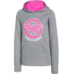 Under Armour Girls' Alter Ego Wonder Woman Glow Storm Armour Fleece Hoodie - Dick's Sporting Goods Wonder Woman Logo, Under Armour Girls, Cool Style, My Style, Wonder Women, Fight Club, Alter Ego, Fleece Hoodie, Athletic Wear