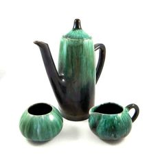 Mid Century Modern Blue Mountain Pottery by ElizaBellaVintage