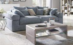 smart Big Sofa Lionore | Mint, Cordstoff | Höffner Big Sofas, Living Room Sofa, Living Rooms, Sofa Couch, Tom Tailor, Furniture, Home Decor, Products, Living Room Ideas