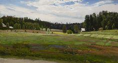 Summer Landscape, ca.1879 - oil on canvas - Fanny Maria Churberg (s. 1845 Nikolainkaupunki, nyk. Vaasa - k. 1892 Helsinki) oli suomalainen taidemaalari. Fanny Churberg kuuluu niihin suomalaisiin taiteilijoihin, joita aikalaiset eivät arvostaneet ja noiden poikkeuksellista lahjakkuutta he eivät nähneet mutta jotka myöhemmät sukupolvet ovat löytäneet. Churberg oli poikkeuksellinen suomalainen romantikko ja aikansa suuria maisemamaalauksen mestareita, jonka Helene Schjerfbeck tunnusti…