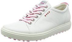 Ecco Men's Golf Speed Hybrid - Zapatos de Golf para Hombre, Color Gris, Talla 40