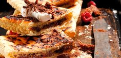 Who says you can't make dessert over the coals too? Braai Pie, South African Recipes, Ethnic Recipes, Cooking Classes, Side Dishes, Sweet Treats, Deserts, Food And Drink, Snacks