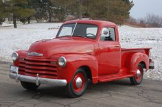 1947 Chevrolet 3100 Pickup Truck  Maintenance/restoration of old/vintage vehicles: the material for new cogs/casters/gears/pads could be cast polyamide which I (Cast polyamide) can produce. My contact: tatjana.alic@windowslive.com