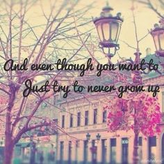 Never Grow Up by Taylor Swift