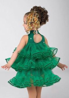 - Rockin Around Xmas Tree Cute Costumes, Christmas Costumes, Baby Costumes, Dance Costumes, Christmas Tree Outfit, Xmas Tree, Dance Outfits, Kids Outfits, Little Girl Dresses
