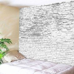 Stone Brick Decorative Tapestry Wall Hangings -