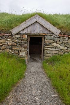 Viking Longhouse, Shetland Islands