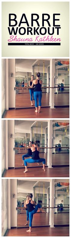 Try this total body barre workout that you can do at home!  #barre #barreworkout #homeworkout