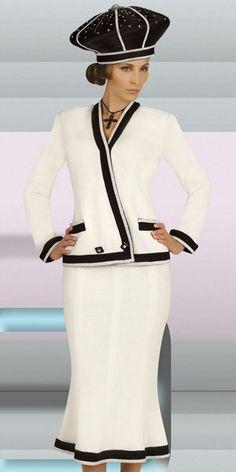 women's church suits and hats   Donna Vinci Knits Women Suits