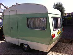 Restoring our vintage sprite 400 caravan - meet Geoffrey!: The finish!