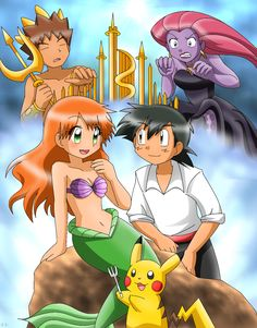 Little Mermaid/Pokemon