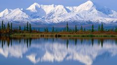 Alaska- Such a beautiful, far away place! Hard to believe it's still in the U.S! I want to go there and experience daylight all day, go on nature hikes, and see what life is like up there!