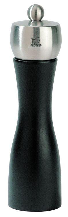 peugeot fidji 825 inch pepper mill black matte peugeot pepper grinder kitchen