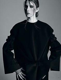 Benoit Missolin veil - Harper's Bazaar KZ