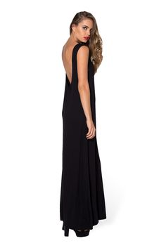 Cowl Back Maxi Dress by Black Milk Clothing $100AUD