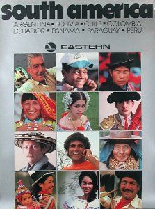South America - Eastern Airlines 1985