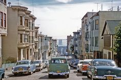 Clay Street, 1957. San Francisco Pictures