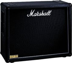 Marshall 1936 Guitar Speaker Cabinet: New This rugged Marshall cabinet features a reflective closed-back design, and two 12-inch Celestion G12T75 speakers to create a powerful (and very loud) sound.