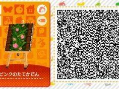 ACNL/ACHHD QR CODE-Flower Garden
