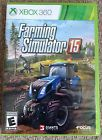 Farming Simulator 15 Microsoft Xbox 360 Excellent Condition