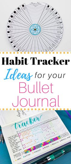 The 3 best layouts for building a bullet journal habit tracker! Plus tons of inspiration for your Bullet Journal or Planner! #bulletjournalcommunity #habittrackers #bulletjournal