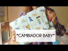 TUTORIAL COMO HACER UN CAMBIADOR DE BEBÉ DE VIAJE (Patron gratis) - YouTube