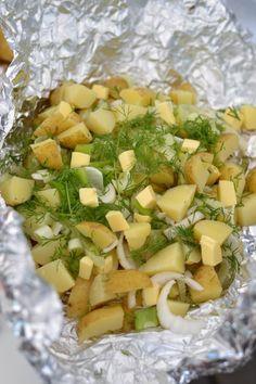 Uudet perunat grillinyytissä – Keittiössä, kotona ja puutarhassa | Meillä kotona