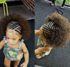 40 Braids for Kids: 40 Braid Styles for Girls When it comes to little girls' hair, braids are a great way to promote hair growth and length retention. Check these 60 gorgeous braids for kids and little girls! Crochet Braids Hairstyles For Kids, Baby Girl Hairstyles, Kids Braided Hairstyles, Braids For Kids, Girls Braids, Black Girls Hairstyles, Hairstyles Haircuts, Bouffant Hairstyles, Fringe Hairstyles