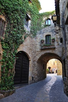Pals, in Girona, Spain....