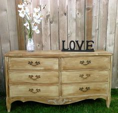 Refinished Buffet with Chalk Paint and Annie Sloan Wax.   Www.facebook.com/shabbysisterdesigners