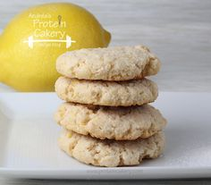 Protein Lemon Sugar Cookies