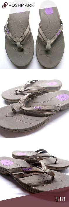 f8d9184c3049 Teva Shoc Pad Flip Flops Sandals Women s Size 9 Teva Shoc Pad Double Strap  Flip Flops Sandals F27012B Women s Size 9 Great Condition. Please see  pictures.
